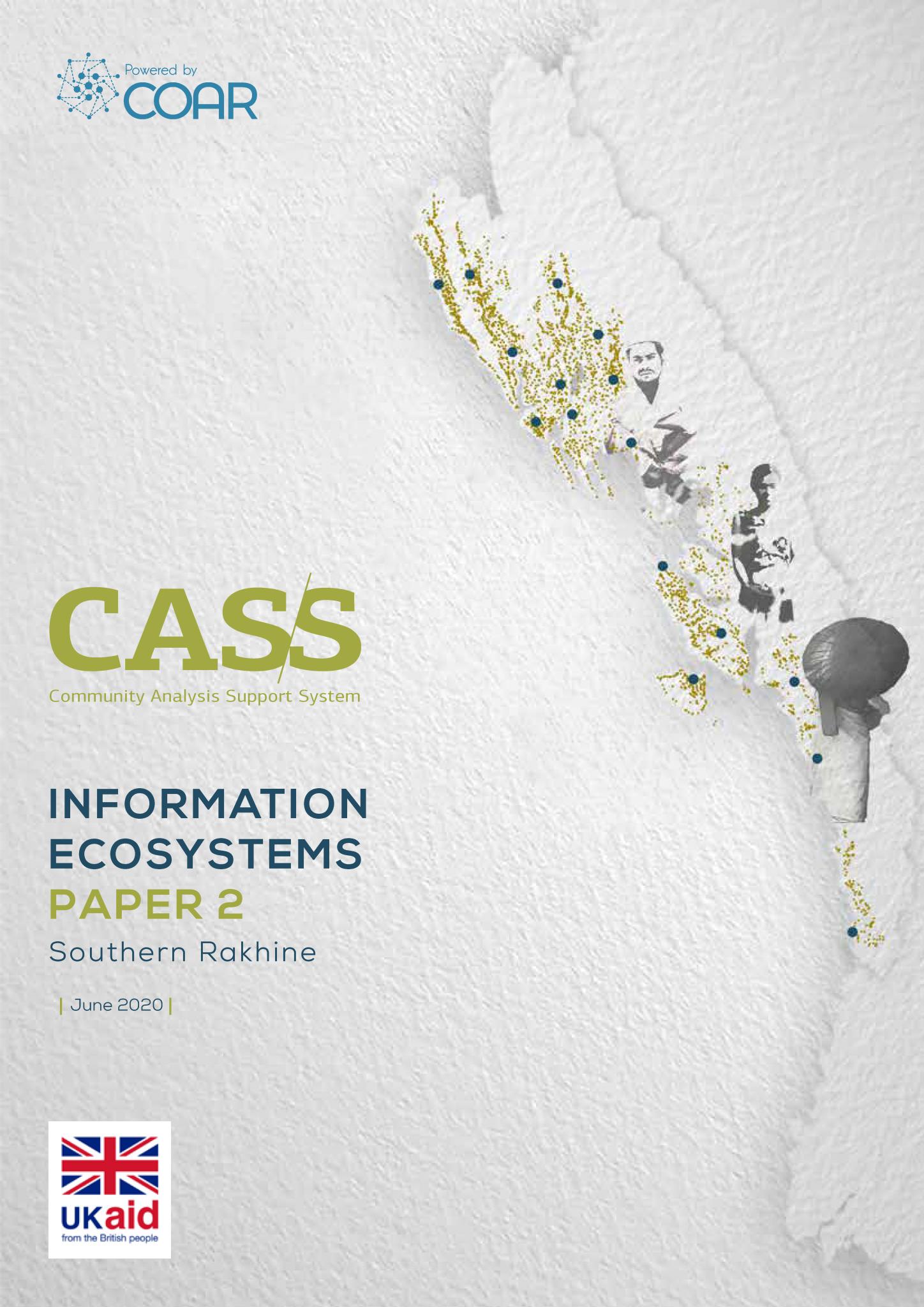 Information Ecosystems Paper 2: southern Rakhine