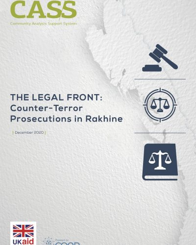 20201203_The Legal Front-Counter-Terror Prosecutions in Rakhine_Cover