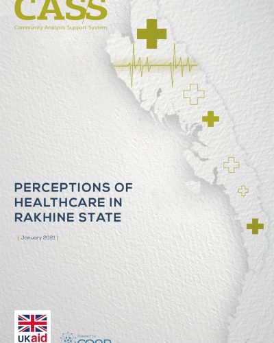 Perceptions of Healthcare in Rakhine State_Cover
